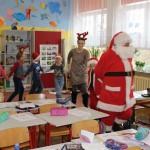 Taniec z Mikołajem w klasie I